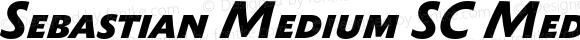 Sebastian Medium SC Medium Bold Italic
