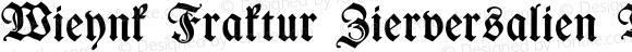 Wieynk Fraktur Zierversalien Bold OTF 1.000;PS 001.000;Core 1.0.29