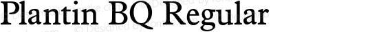 Plantin BQ Regular preview image