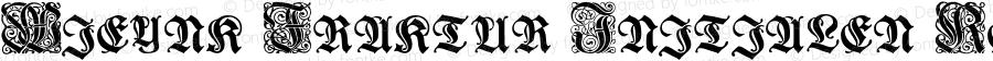Wieynk Fraktur Initialen Regular OTF 1.000;PS 001.000;Core 1.0.29