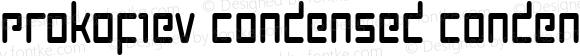 Prokofiev Condensed Condensed