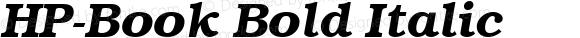 HP-Book Bold Italic