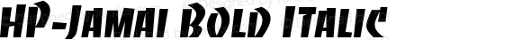 HP-Jamai Bold Italic