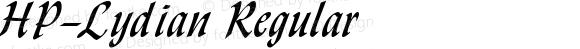 HP-Lydian Regular 2