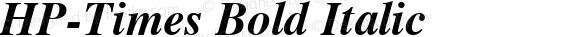 HP-Times Bold Italic