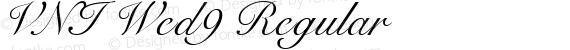 VNI Wed9 Regular preview image