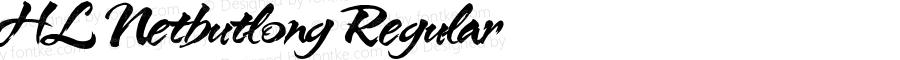 HL Netbutlong Regular 1.0 Embed BK2 - http://www.hunglandesign.com