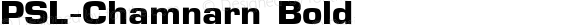 PSL-Chamnarn Bold Altsys Fontographer 3.5  25/11/95