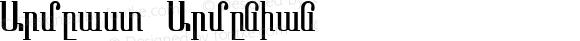 Armeast Armenian 1.0 Thu Jul 29 08:40:08 1993