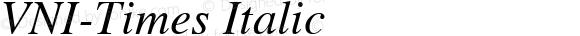 VNI-Times-Italic