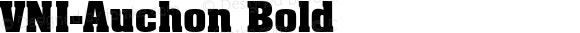 VNI-Auchon-Bold