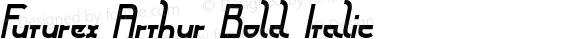 Futurex Arthur Bold Italic Version 1.1 2009