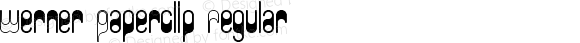 Werner Paperclip Regular Version 1.0
