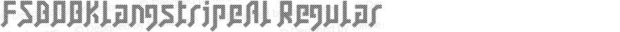FSB08KlangstripeAl Regular Fontographer 4.7 07.11.10 FG4J0000001007