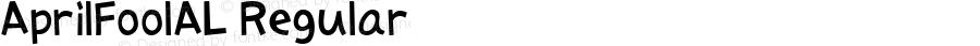 AprilFoolAL Regular Macromedia Fontographer 4.1J 08.7.3