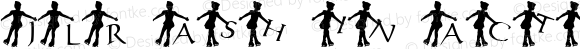 JLR Ash in Action Regular Macromedia Fontographer 4.1 8/13/01