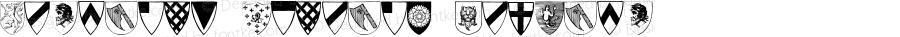 Heraldic Shields Regular Unknown