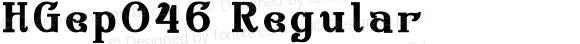 HGep046 Regular Version 3.00