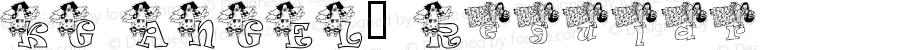 KG ANGEL1 Regular Macromedia Fontographer 4.1 2/9/2001