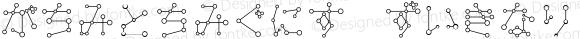 TansanHir Regular Macromedia Fontographer 4.1J 06.3.22