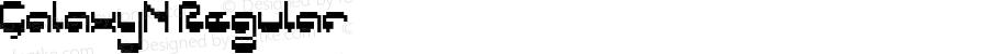 GalaxyN Regular Macromedia Fontographer 4.1J 5/16/02