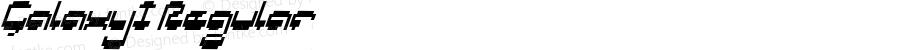 GalaxyI Regular Macromedia Fontographer 4.1J 5/16/02