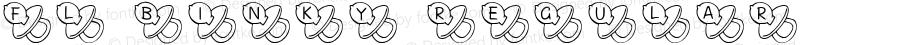 FL Binky Regular Macromedia Fontographer 4.1 2/17/01