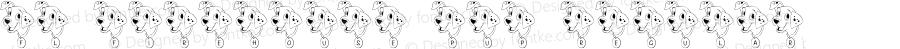 FL Firehouse Pup Regular Macromedia Fontographer 4.1 2/21/01