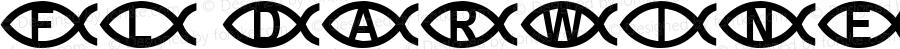 FL Darwinesque Regular Macromedia Fontographer 4.1 2/17/01