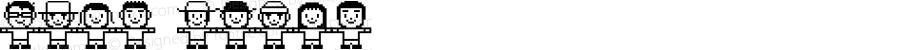 Folk white Macromedia Fontographer 4.1J 03.5.23