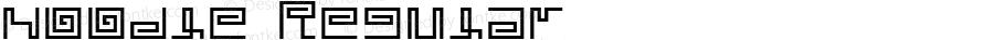 noodle Regular Macromedia Fontographer 4.1J 02.3.27