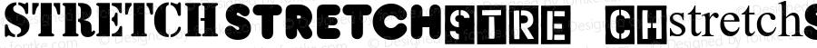 Stretch Regular Macromedia Fontographer 4.1.3 1/19/01
