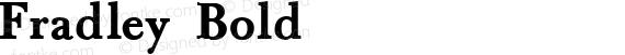 Fradley Bold preview image