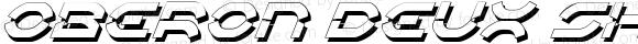 Oberon Deux Shadow Italic Shadow Italic