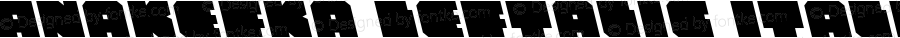 Anakefka Leftalic Italic 001.000