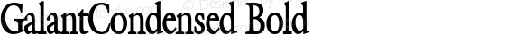 GalantCondensed Bold preview image