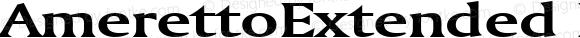 AmerettoExtended Bold Altsys Fontographer 4.1 5/28/96