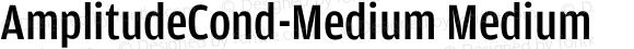AmplitudeCond-Medium Medium 001.000