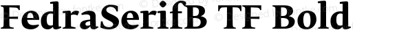 FedraSerifB TF Bold 001.000