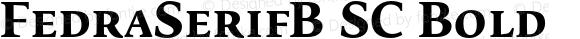 FedraSerifB SC Bold 001.000