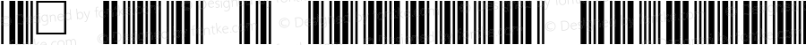 Z: 3of 9 BarCode Regular 1.0 Sun Feb 12 23:49:51 1995