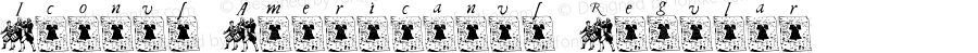 Iconus Americanus Regular Macromedia Fontographer 4.1 1/29/03