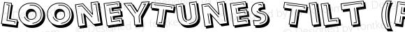 LooneyTunes Tilt (FontView) Tilt mfgpctt-v1.59 Tuesday, March 9, 1993 11:58:56 am (EST)