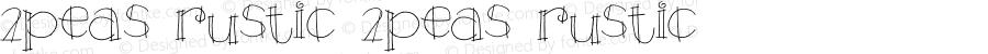 2Peas Rustic 2Peas Rustic Version 1.00; August 1, 2002
