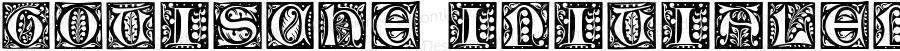Gotische Initialen Regular Version 1.0; 2002; initial release