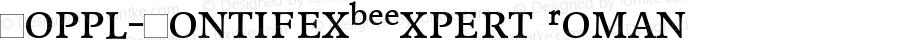 Poppl-PontifexBEExpert Roman Version 1.00