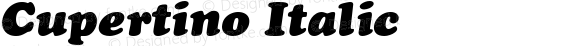 Cupertino Italic