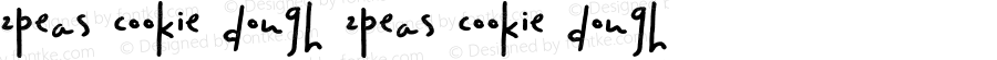 2Peas Cookie Dough 2Peas Cookie Dough Version 1.00; October 1, 2002
