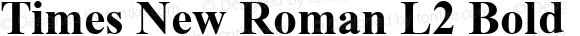 Times New Roman L2 Bold 1.0 Sat Jan 25 00:23:05 1997