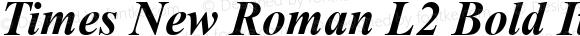 Times New Roman L2 Bold Italic 1.0 Sat Jan 25 00:22:31 1997